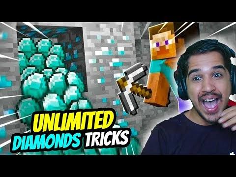 unlimite Diamond Trick in minecraft 1.17 with AmitBhai || Desi Gamers