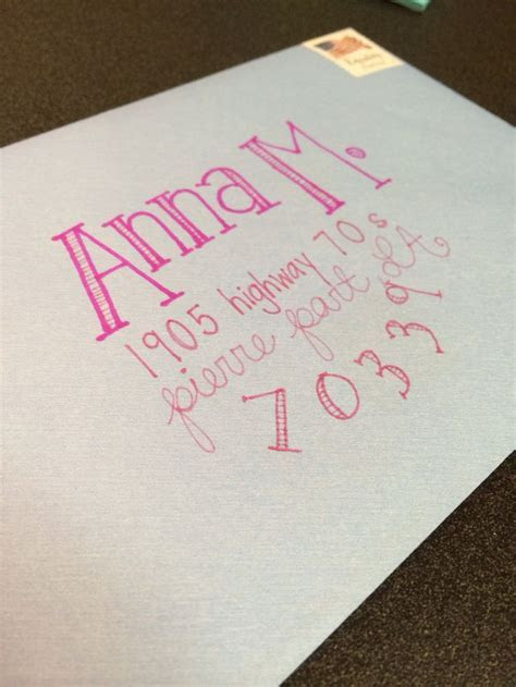 Best 25  Cute envelope addressing ideas on Pinterest