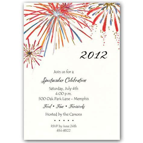 Fireworks Invitations   PaperStyle