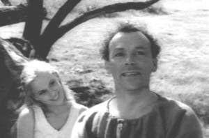 Bibi Andersson y Nils Poppe