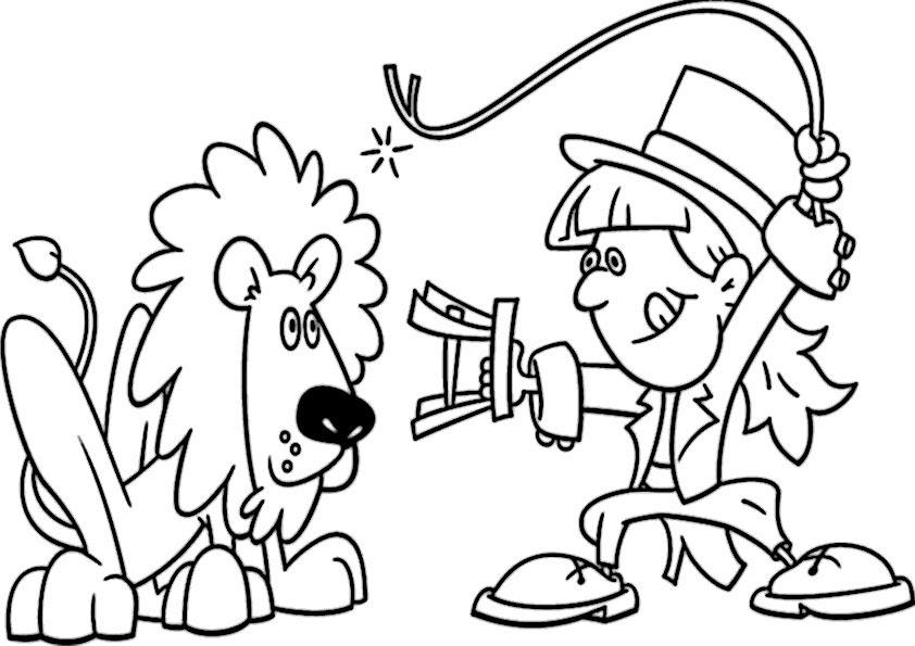 malvorlagen zirkus gratis - malvorlagen