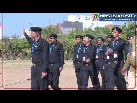 Flag Hoisting on Republic Day - Dr BS Tomar