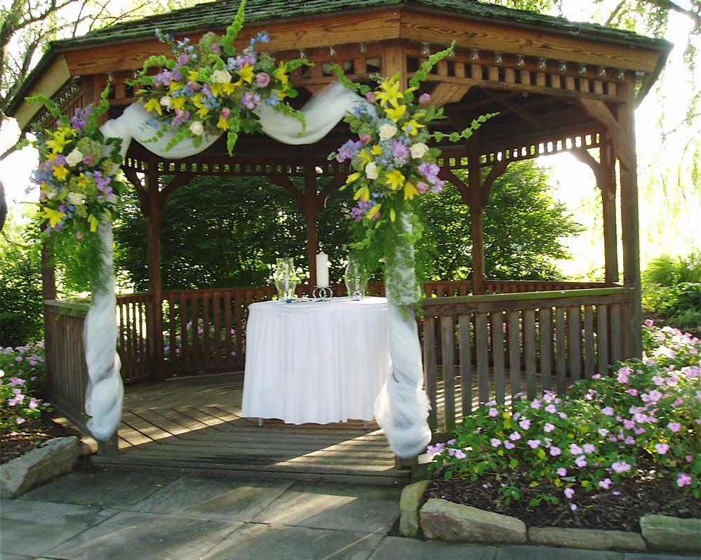 Lawn And Garden Supplies Wedding Gazebo Decorating