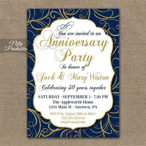 17 Best ideas about Anniversary Invitations on Pinterest