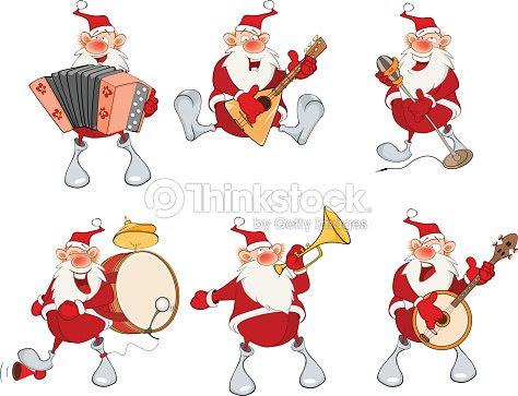 Dibujo Animado De Santa Claus