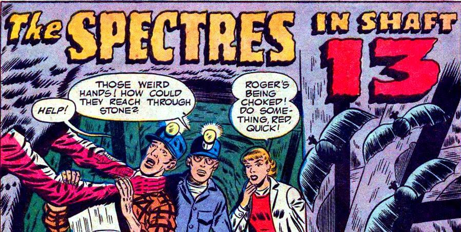 specters in shaft 13