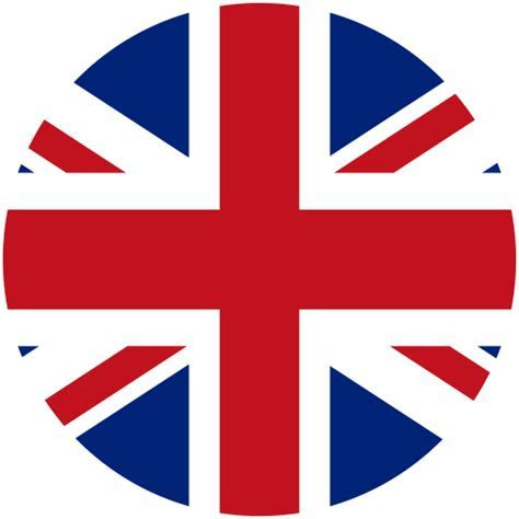 Britain, Flat, National Flag Icon With PNG and Vector