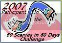 60 Scarves in 60 Days Challege
