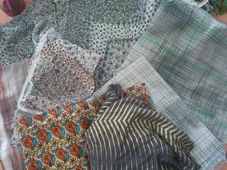 Fabrics I donated to the swap!