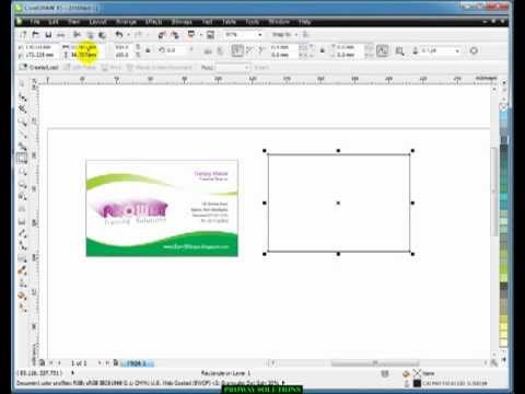 Computer blog corel draw tutorials visiting cards learn coreldraw tutorial in hindi 3 visiting card design youtube reheart Image collections