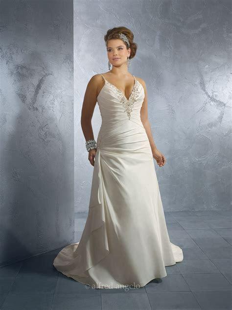 Alfred angelo plus size wedding dresses   weddingcafeny.com