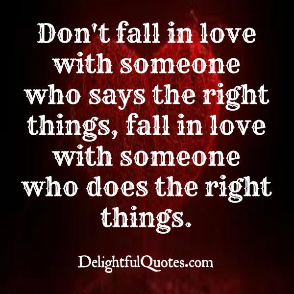 What Kind Of Person To Fall In Love With Delightful Quotes