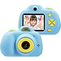 New Kids Digital handicam Video Camera Camcorder 3MP 1080p HD Video with 2 Inch Colour IPS Unbreakable Display