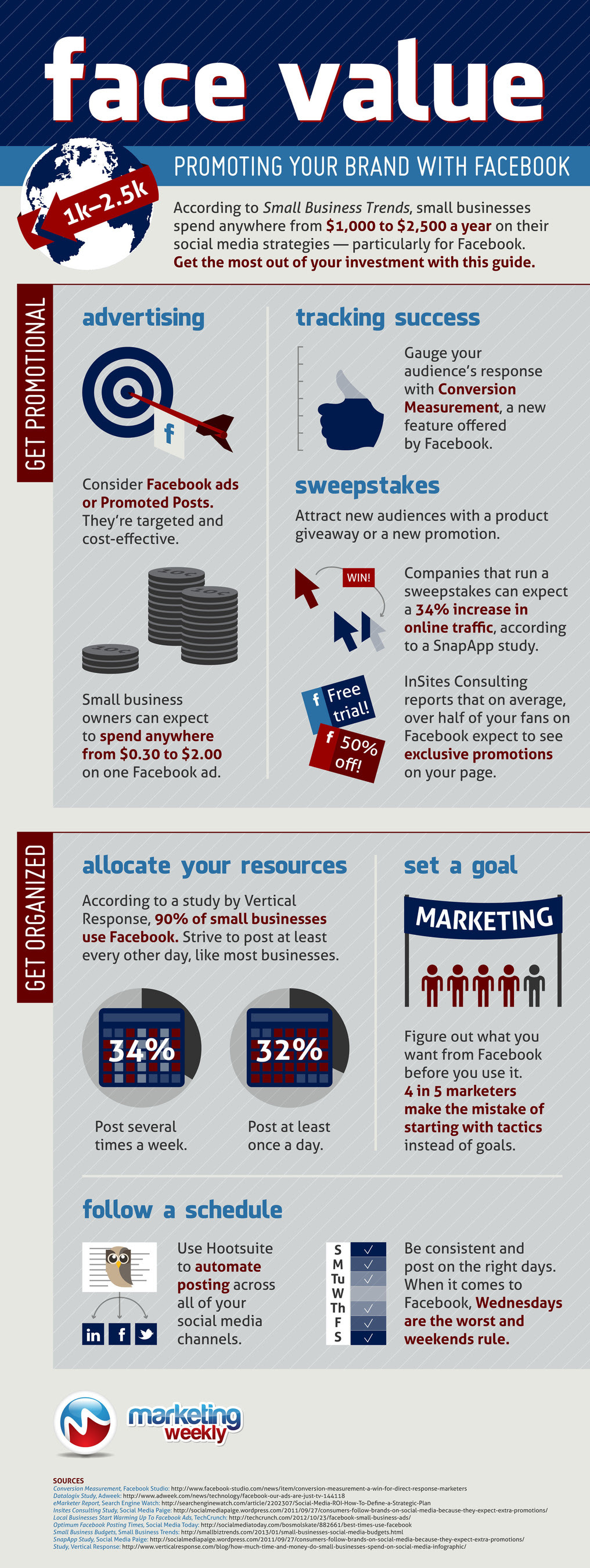 Face value: Promoting your brand with Facebook: infographic