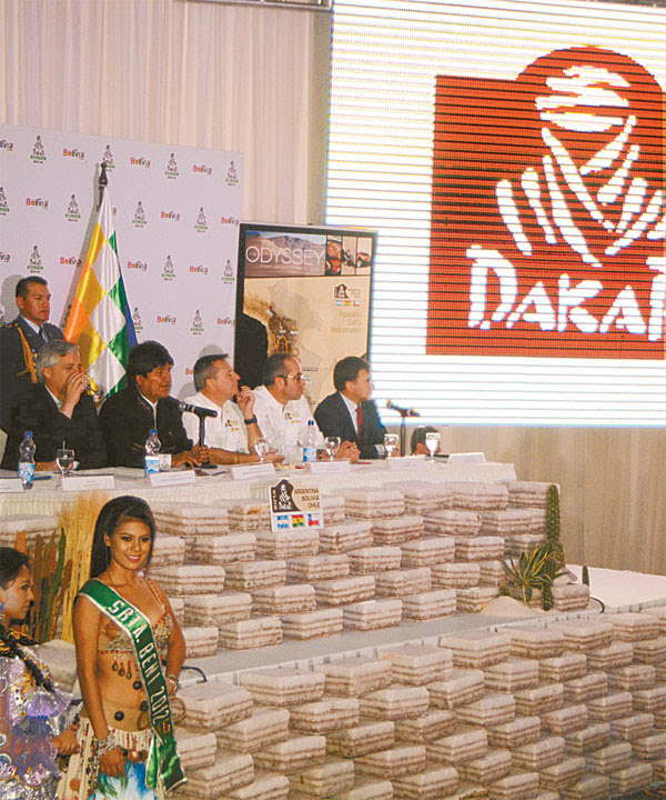 Travesía del Dakar 2014 por Bolivia