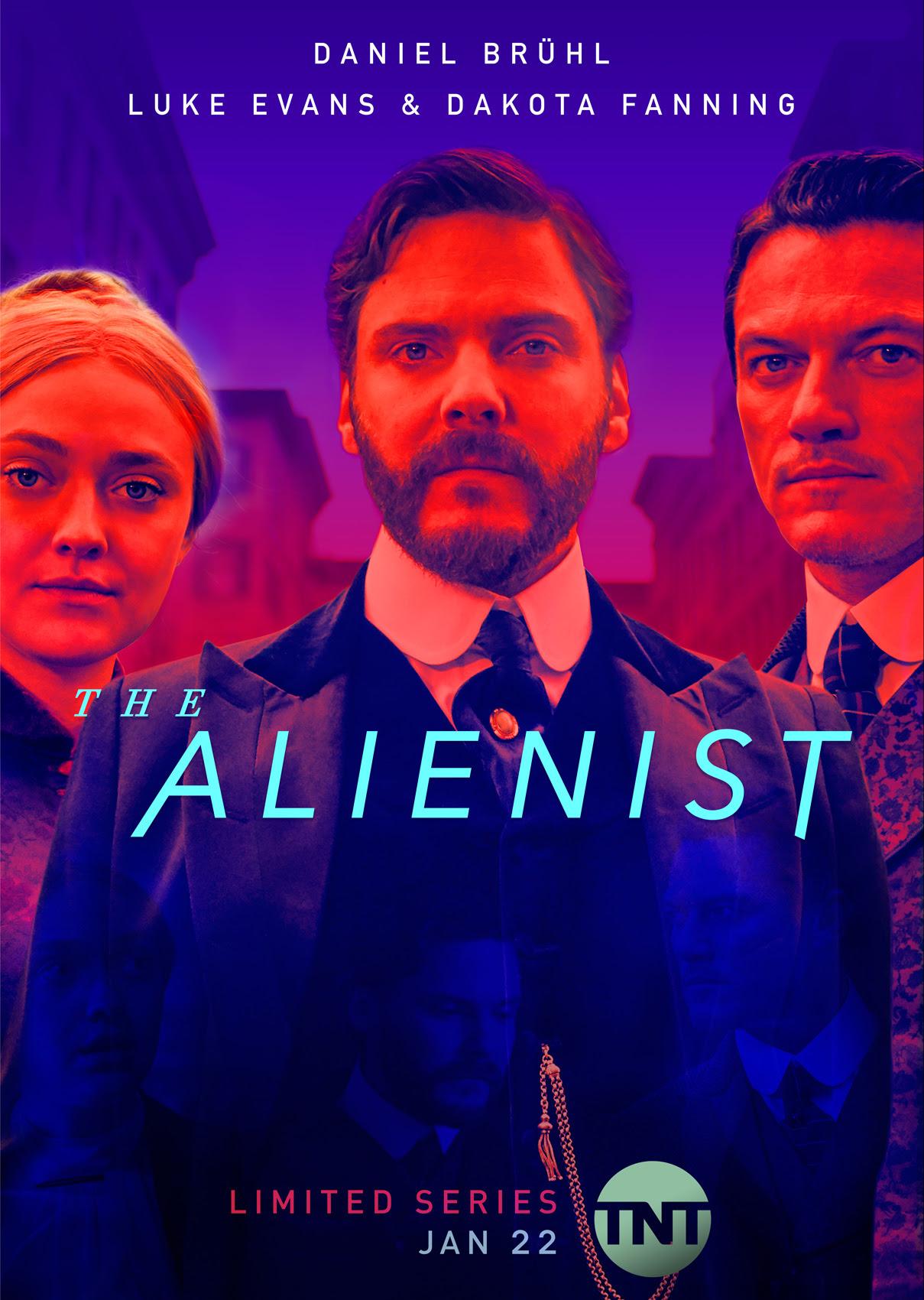 Bildergebnis für the alienist plakat