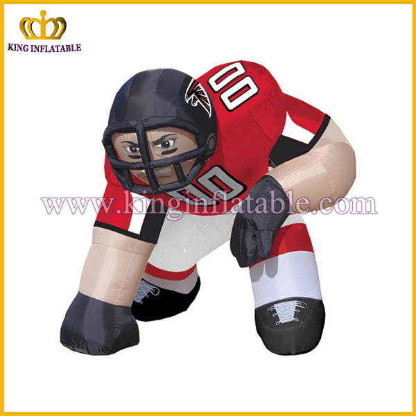 Cheap Nfl Inflatable Player Lawn Figure,Bubba Player,Football Player Buy Inflatable Player