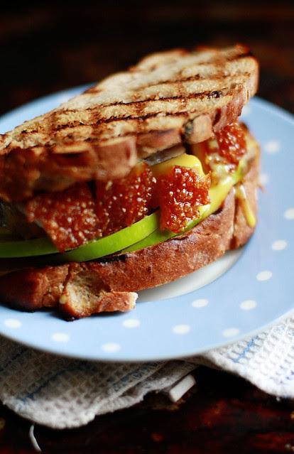 Roast Pork, Apple & Mustard Mayo Sandwich