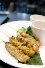Satay, Singapore Seafood Republic, Shinagawa
