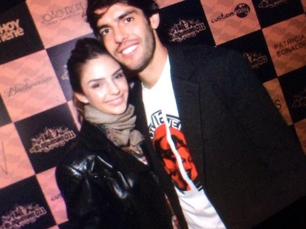 Carol Celico e Kaká em festa em São Paulo (Foto: Instagram/ Reprodução)