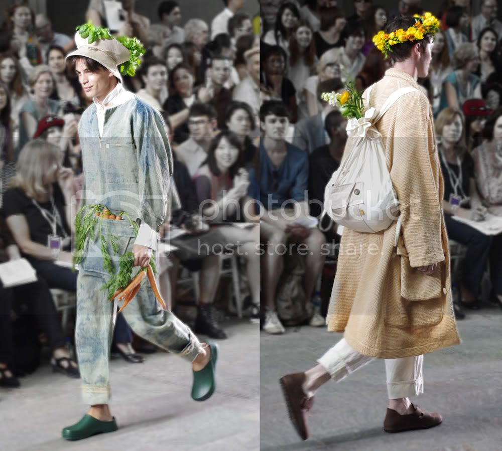 Ruina Iida (Fashion Menswear) CSM BA Press Show
