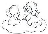 IMMAGINI DA COLORARE DI ANGELI