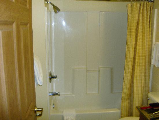 One Piece Fiberglass Shower Units