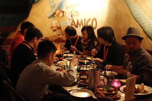 My New Year's Eve Reunion Dinner 2011