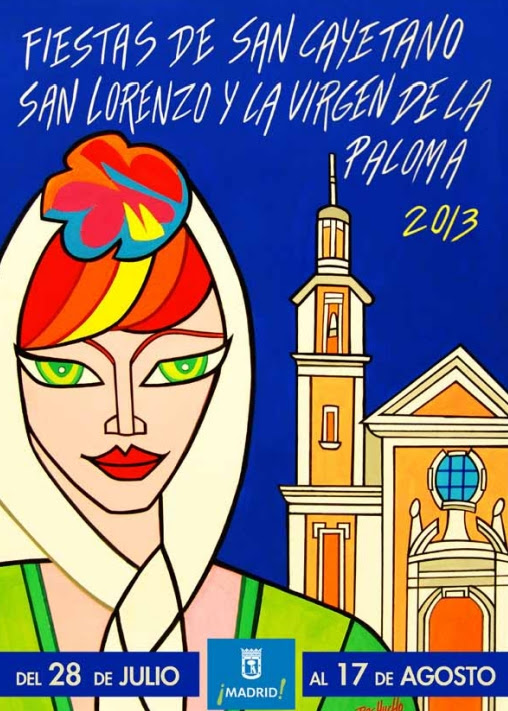 Fiestas Virgen de La Paloma 2013