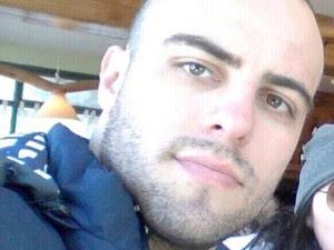 Suspeito de matar Ricardinho, Luis Brentano é da PM de Joinville (Foto: Reprodução/Facebook)