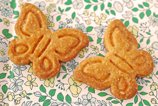 Eggless crunchy cookies