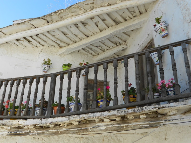 #terrazzo #Capileira, Las #Alpujarras