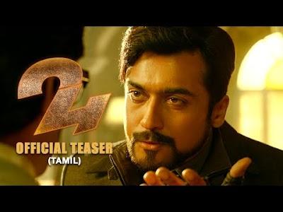 24 Official Teaser Tamil | Suriya, Samantha Ruth Prabhu, Nithya Menen | AR.Rahman | Vikram K Kumar