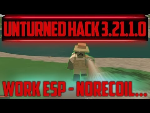 Unturned 3.21.1.0 Hile Load Envanter,Wall,Menzil Menu Hack