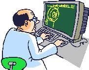gambar animasi komputer life gambar lucu sakit gif images