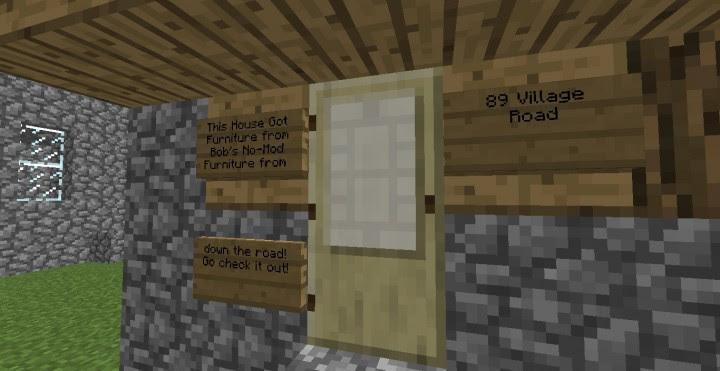 Minecraft Command Block Furniture - Catet k