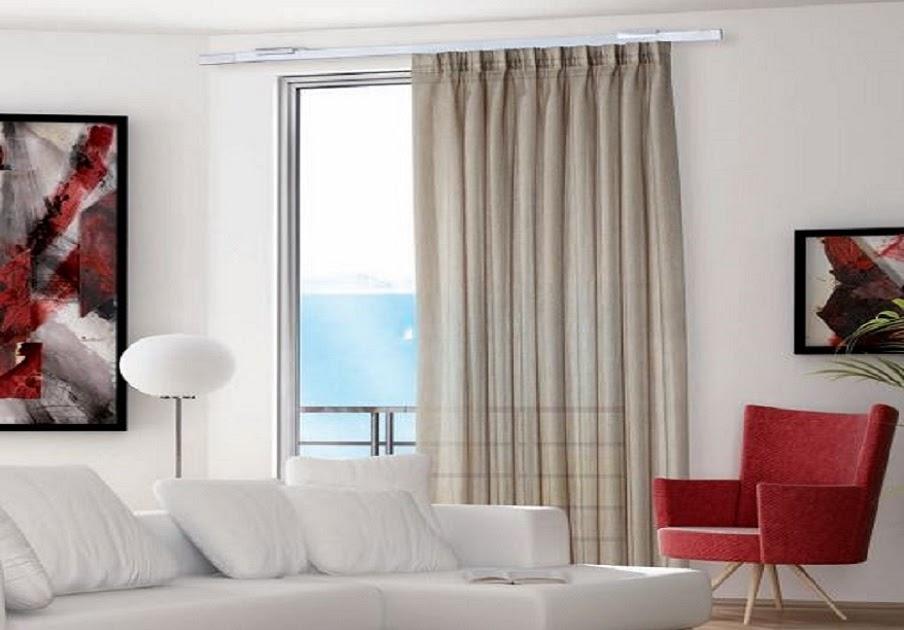 Casa moderna roma italy tende per interni moderne a rullo - Tende per finestre alte ...