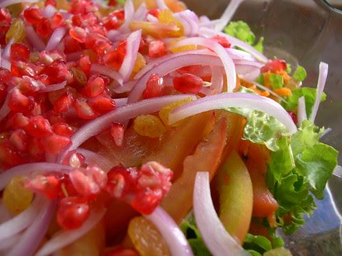 Salada... apenas uma variante adaptada à época!