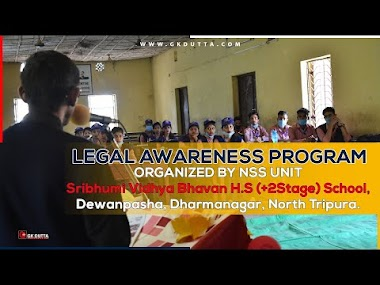 LEGAL AWARENESS PROGRAM ORGANIZED BY NSS UNIT