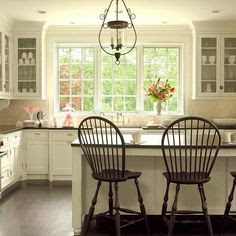 Updated Vintage - the lighter cabinetry is a little more appealing in this picture . . .