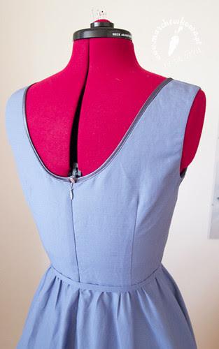 blog, marchewkowa, szycie, krawiectwo, moda, retro, vintage, 1953, 50s, rekonstrukcja odzieży, szantung, satyna bawełniana, wykrój, sukienka, bolerko, zestaw, komplet, Simplicity 4250