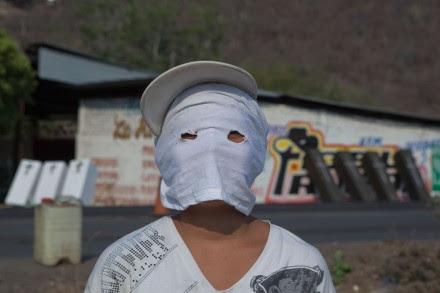 Un puesto de vigilancia de la autodefensa en Buenavista, Michoacán. Foto: Octavio Gómez