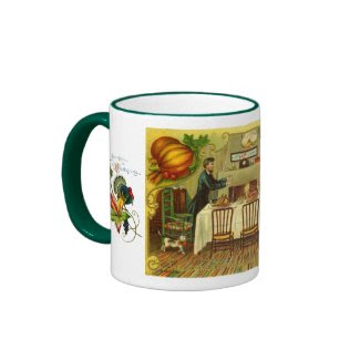 Vintage Thanksgiving Mug mug