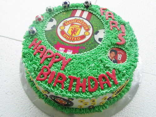 Birthday Cake with Edible