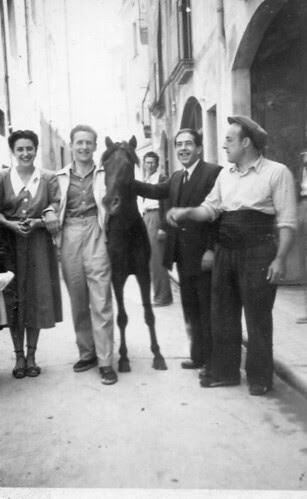 En Rafel Cros, en Terrades, recader de Girona, i en Miquel Dilme, recader de Banyoles.