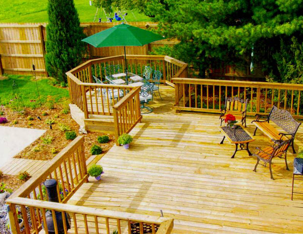 Deck Design Ideas | InteriorHolic.