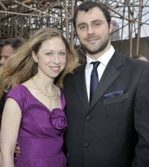 He fits the bill: Chelsea Clinton and Marc Mezvinsky are set to wed tomorrow