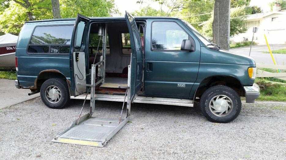 Wheelchair Accessible 1995 Ford E150 Van Sault Ste Marie