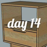 DIY Nightstand Day 14