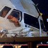 Avião que derrapou no aeroporto de Vnukovo, próximo de Moscou, na Rússia, deixou dois mortos